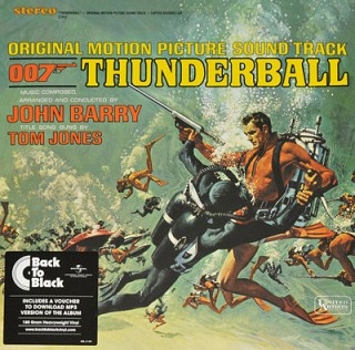 John Barry ‎ - Thunderball (Original Motion Picture Soundtrack)