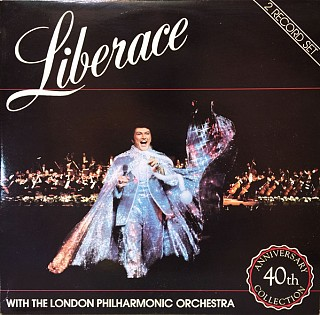 Liberace - Live With The London Philharmonic Orchestra ‎– 40th Anniversary