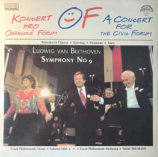 The Czech Philharmonic Orchestra, Ludwig van Beethoven, Czech Philharmonic Chorus -  Symphony No. 9 - A Concert For The Civic Forum
