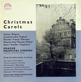 Prague Madrigal Singers , Conductor Miroslav Venhoda - Christmas Carols