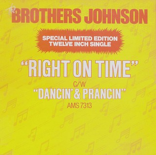 The Brothers Johnson - Right On Time / Dancin' & Prancin'