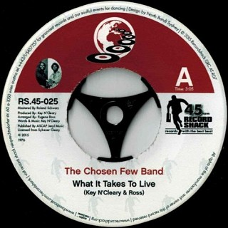 The Chosen Few Band - What It Takes To Live / To Love
