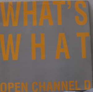 What's What - Open Channel D